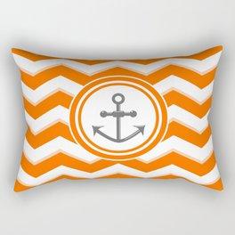 Chevron Anchor Rectangular Pillow