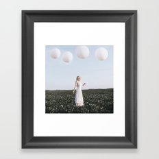 Balloons Framed Art Print