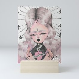 WICKED HEART Mini Art Print