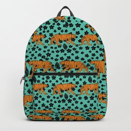Teal Tiger Backpack