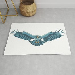 Geometric flying eagle Rug
