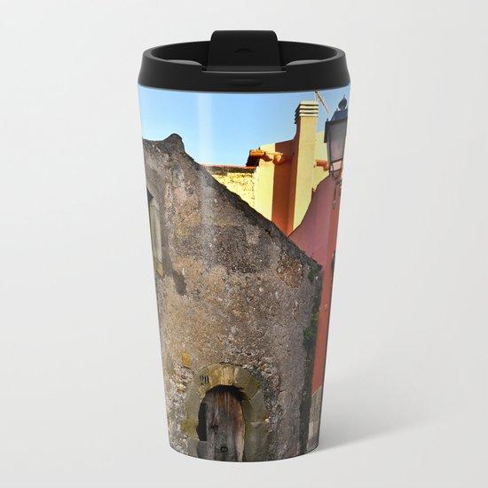 Medieval village of Sicily Metal Travel Mug