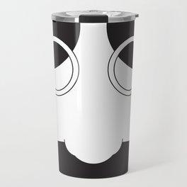 Face Groucho Graphic Travel Mug
