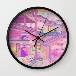 Nekosaki Wall Clock
