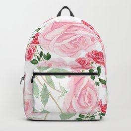 pink rose patterns Backpack