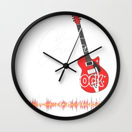 Castle Rock ColoradoGuita Music is like that retro Custom Wall Clock