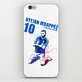 WORLD CUP 2018  FRANCE #blue 10 #2 iPhone Skin