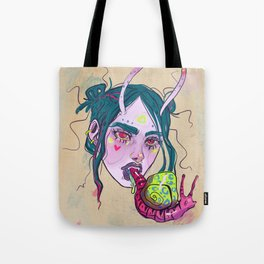 Snail Trail Tote Bag