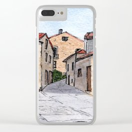 Village in Portugal Clear iPhone Case