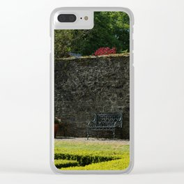 Walled Garden Clear iPhone Case