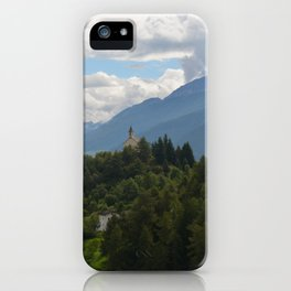 A glimpse through the forest iPhone Case