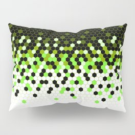 Flat Tech Camouflage Reverse Green Pillow Sham