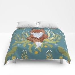 Fox Brown Comforters