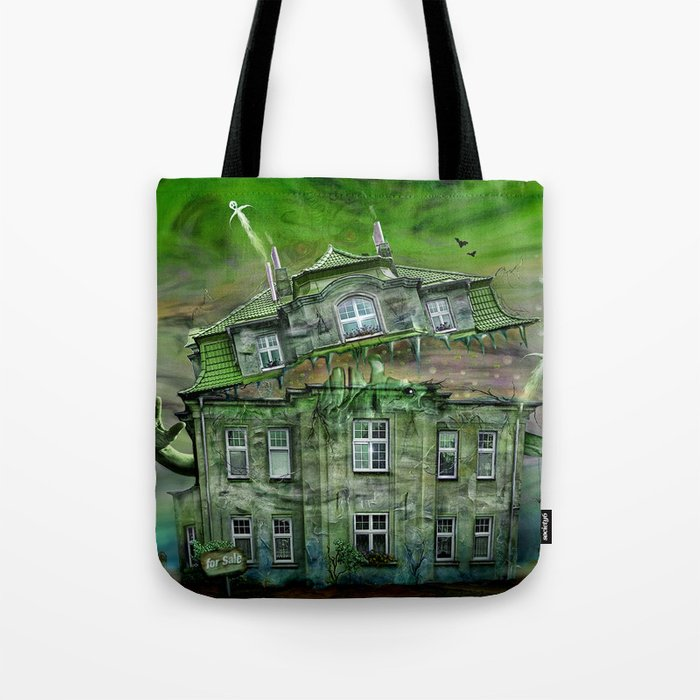 The Ghosthouse Tote Bag
