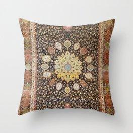 Ardabil Persian Safavid Carpet Throw Pillow