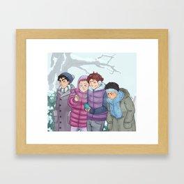 Seijoh Winter Tale Framed Art Print
