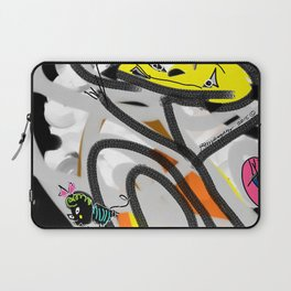 The Cat, The Bee & The Eye Laptop Sleeve