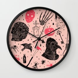 Whole Lot More Horror Wall Clock