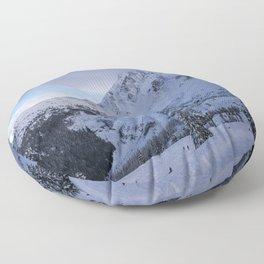 Mt Baker Wilderness Floor Pillow