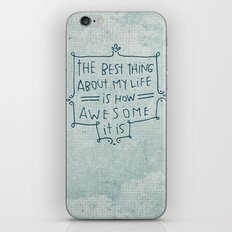 The Best Thing iPhone & iPod Skin