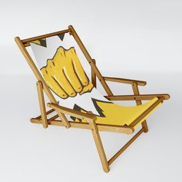 Yellow Fist by Star Sling Chair