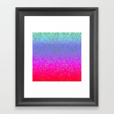 Glitter Star Dust G244 Framed Art Print