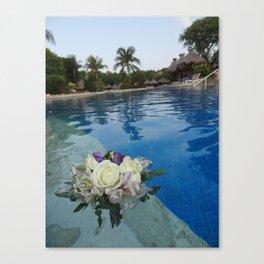 Beauty Afloat Canvas Print