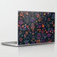 bali Laptop & iPad Skins featuring Bali Floral by Nikkistrange