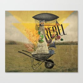 Unshackled, Rebel by Lendi Hader Canvas Print