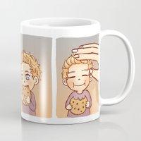 cookie Mugs featuring Cookie by susumzee