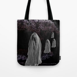 Halloween Ghosts Tote Bag