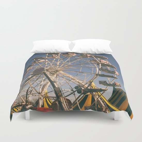 Wheel Ferris Duvet Cover