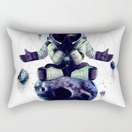 Moon Rock Rectangular Pillow