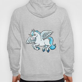 unicorn with wings Hoody