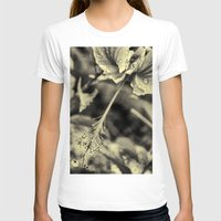 hibiscus T-shirts featuring Hibiscus by Fredy Mihaila