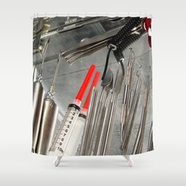 Medical Utensils Shower Curtain