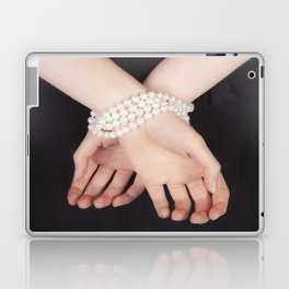 Tied with pearls Laptop & iPad Skin