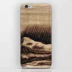 Portrait Of A Back iPhone & iPod Skin