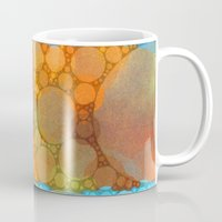 blues Mugs featuring Blues by Olivia Joy StClaire