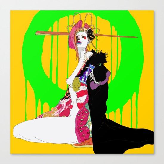 地獄太夫 (あなたを道連れ) - JIGOKUDAYU (ANATAWOMICHIZURE) Canvas Print