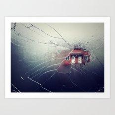 Implode Art Print