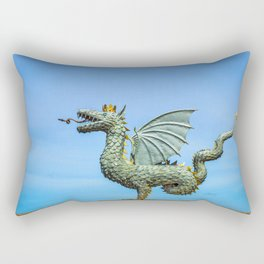 Dragon Zilant Rectangular Pillow