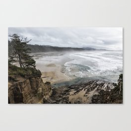 Lookout Point near Otter Rock Canvas Print