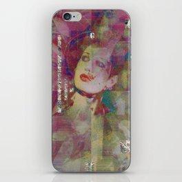 Dirt and glitter. iPhone Skin