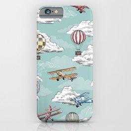Joie de Flight - Aviation Toile iPhone Case