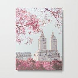 Surreal Spring - New York City Travel Photography Metal Print