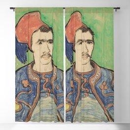 """Vincent van Gogh """"The zouave"""" (1888) Blackout Curtain"""