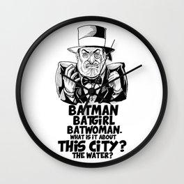 Classic Oswald Cobblepot: The Penguin Wall Clock