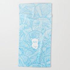 Yarn Ball Pit Beach Towel