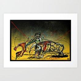 El Veronica #1 Art Print